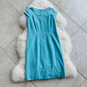 ANTONIO MELANI / blue square collar dress